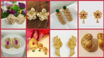 Cute Small Gold Earrings