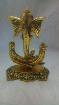 Trunk Ganesh Gold