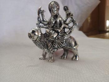 Durga Small Silver